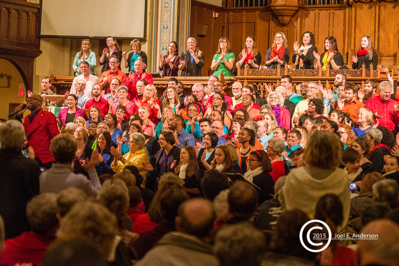 """Columbia Chorale - """"Unity"""" with the Columbia Gospel Choir"""