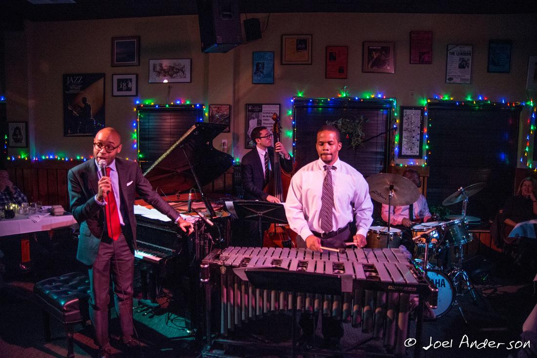 Aaron Diehl Quartet (J Anderson '13)